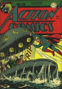 Cover Thumbnail for Action Comics (DC, 1938 series) #90