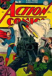 Cover Thumbnail for Action Comics (DC, 1938 series) #91