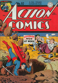 Cover Thumbnail for Action Comics (DC, 1938 series) #92