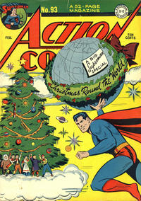 Cover for Action Comics (DC, 1938 series) #93