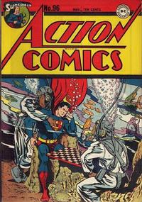 Cover Thumbnail for Action Comics (DC, 1938 series) #96