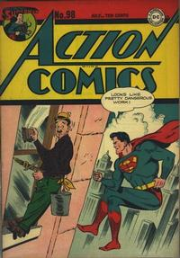 Cover Thumbnail for Action Comics (DC, 1938 series) #98