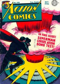 Cover Thumbnail for Action Comics (DC, 1938 series) #101