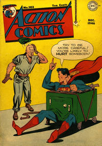 Cover Thumbnail for Action Comics (DC, 1938 series) #103
