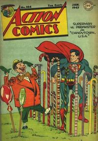 Cover Thumbnail for Action Comics (DC, 1938 series) #104