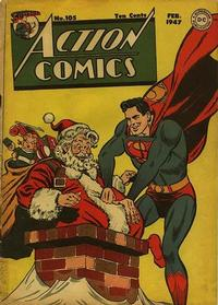 Cover Thumbnail for Action Comics (DC, 1938 series) #105