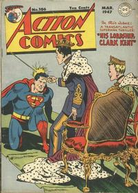 Cover Thumbnail for Action Comics (DC, 1938 series) #106