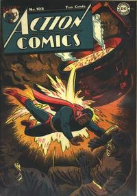 Cover Thumbnail for Action Comics (DC, 1938 series) #108