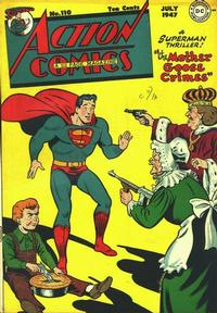 Cover Thumbnail for Action Comics (DC, 1938 series) #110