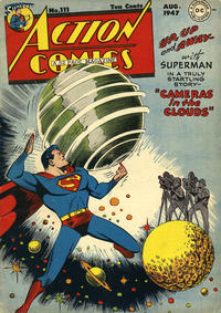 Cover Thumbnail for Action Comics (DC, 1938 series) #111