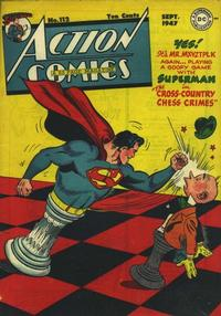 Cover Thumbnail for Action Comics (DC, 1938 series) #112