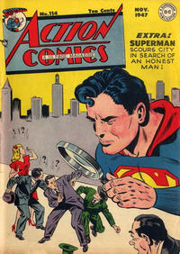 Cover for Action Comics (DC, 1938 series) #114