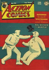 Cover Thumbnail for Action Comics (DC, 1938 series) #116