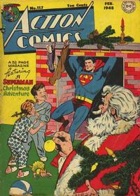 Cover Thumbnail for Action Comics (DC, 1938 series) #117