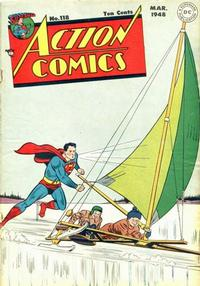 Cover Thumbnail for Action Comics (DC, 1938 series) #118
