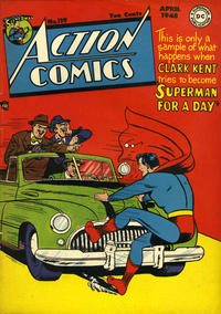 Cover Thumbnail for Action Comics (DC, 1938 series) #119