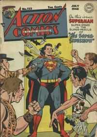 Cover Thumbnail for Action Comics (DC, 1938 series) #122