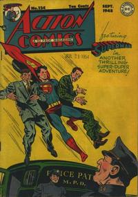 Cover Thumbnail for Action Comics (DC, 1938 series) #124