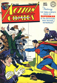 Cover Thumbnail for Action Comics (DC, 1938 series) #125