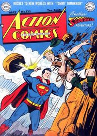 Cover Thumbnail for Action Comics (DC, 1938 series) #132