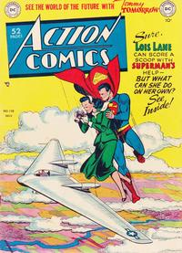 Cover Thumbnail for Action Comics (DC, 1938 series) #138