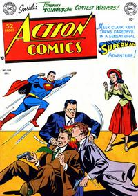 Cover Thumbnail for Action Comics (DC, 1938 series) #139