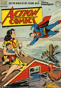 Cover Thumbnail for Action Comics (DC, 1938 series) #144