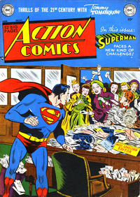 Cover Thumbnail for Action Comics (DC, 1938 series) #147