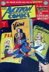 Cover Thumbnail for Action Comics (DC, 1938 series) #155