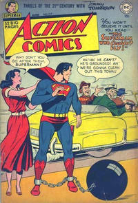 Cover Thumbnail for Action Comics (DC, 1938 series) #157