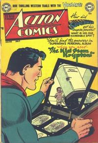 Cover Thumbnail for Action Comics (DC, 1938 series) #158