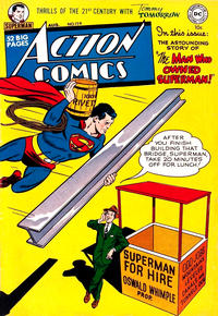 Cover Thumbnail for Action Comics (DC, 1938 series) #159