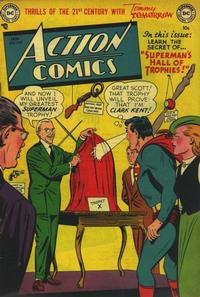 Cover Thumbnail for Action Comics (DC, 1938 series) #164