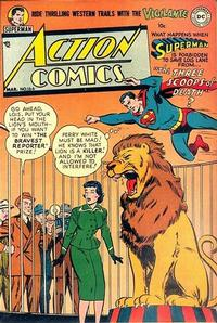 Cover Thumbnail for Action Comics (DC, 1938 series) #166