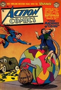 Cover Thumbnail for Action Comics (DC, 1938 series) #167