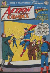Cover Thumbnail for Action Comics (DC, 1938 series) #170
