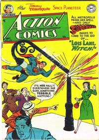 Cover Thumbnail for Action Comics (DC, 1938 series) #172