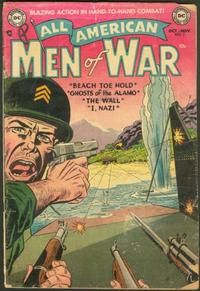 Cover Thumbnail for All-American Men of War (DC, 1953 series) #7