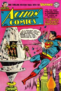 Cover Thumbnail for Action Comics (DC, 1938 series) #182