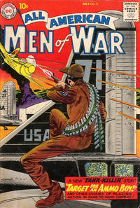 Cover Thumbnail for All-American Men of War (DC, 1953 series) #71