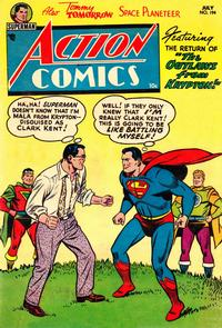 Cover Thumbnail for Action Comics (DC, 1938 series) #194