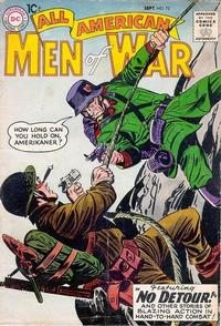 Cover Thumbnail for All-American Men of War (DC, 1952 series) #73
