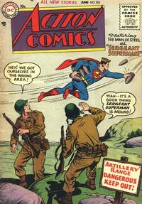 Cover Thumbnail for Action Comics (DC, 1938 series) #205