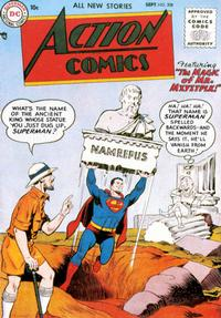 Cover Thumbnail for Action Comics (DC, 1938 series) #208
