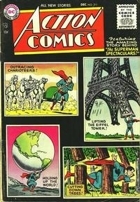 Cover Thumbnail for Action Comics (DC, 1938 series) #211