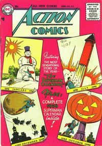 Cover Thumbnail for Action Comics (DC, 1938 series) #212