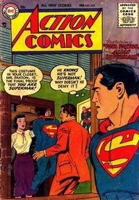 Cover Thumbnail for Action Comics (DC, 1938 series) #213