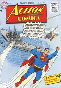 Cover Thumbnail for Action Comics (DC, 1938 series) #214