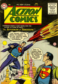 Cover Thumbnail for Action Comics (DC, 1938 series) #215