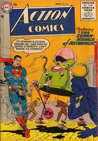 Cover Thumbnail for Action Comics (DC, 1938 series) #216